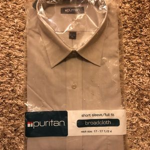 Brand new! Men's Puritan broadcloth shirt.